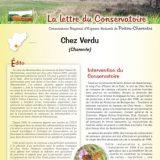 Lettre info Chez Verdu - Mai 2014