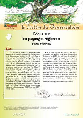 Lettre paysage dec. 2011 - CEN-PC