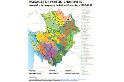 Atlas des paysages de Poitou-Charentes © CEN-PC