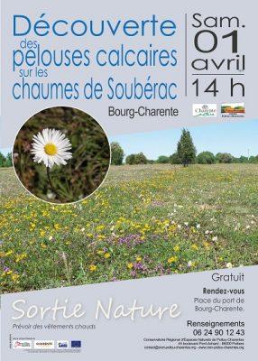 affiche sortie Soubérac © CEN-PC