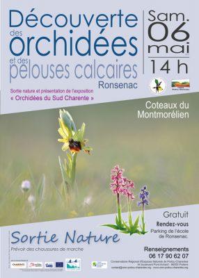 Affiche sortie orchidées © CEN-PC
