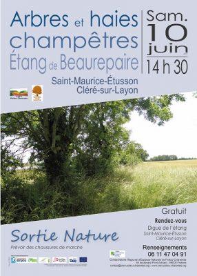 affiche sortie arbres, Beaurepaire (79)