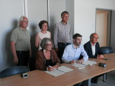 Signature convention projets eoliens wpd © CEN-PC
