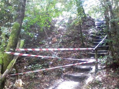 Fermeture de sentier à Touvérac (16) © CEN-PC